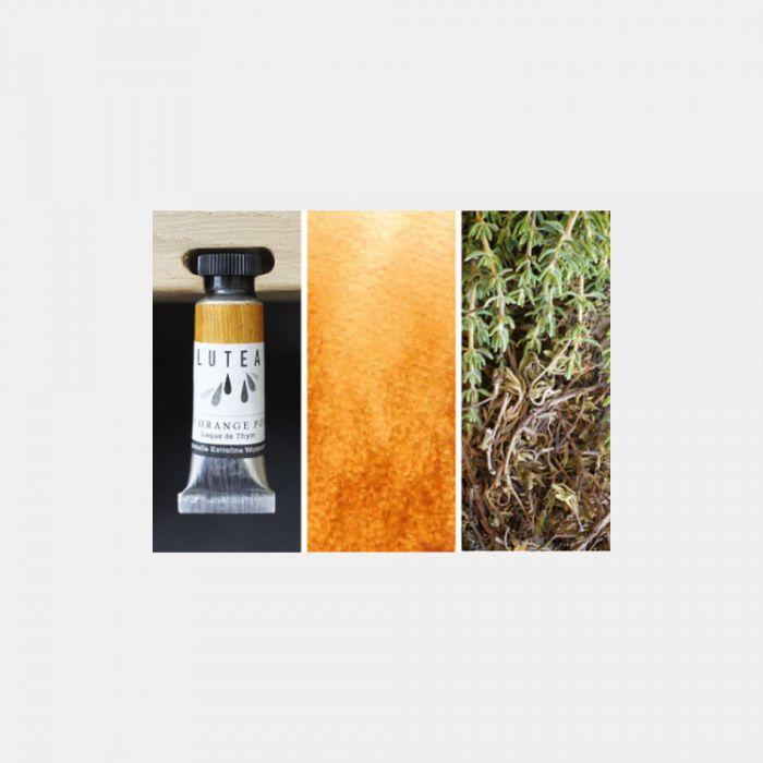 Акварель органическая LUTEA -  Dark Orange (Thyme). Туба 9 мл