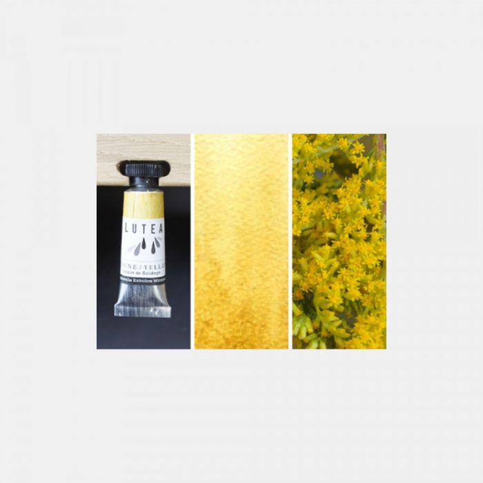 Акварель органическая LUTEA -  Yellow (Goldenrod). Туба 9 мл