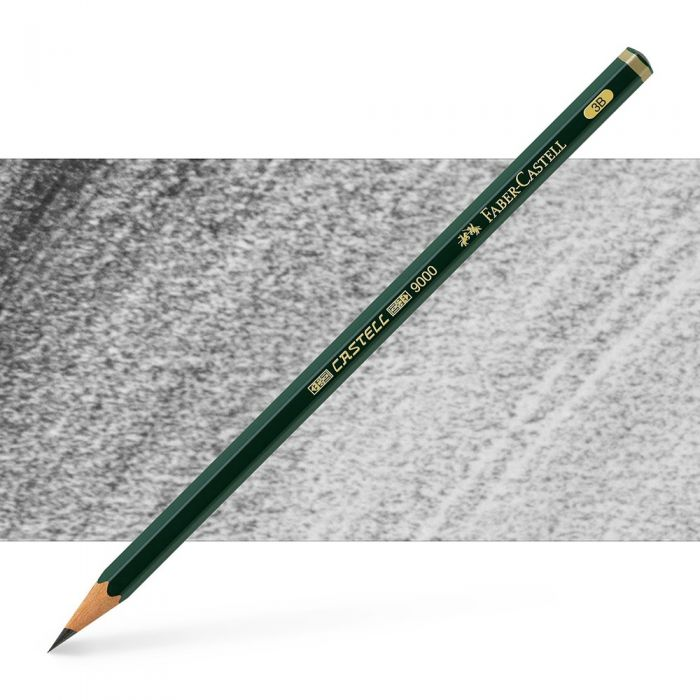 Графитный карандаш Faber Castell series 9000, твердость 3B