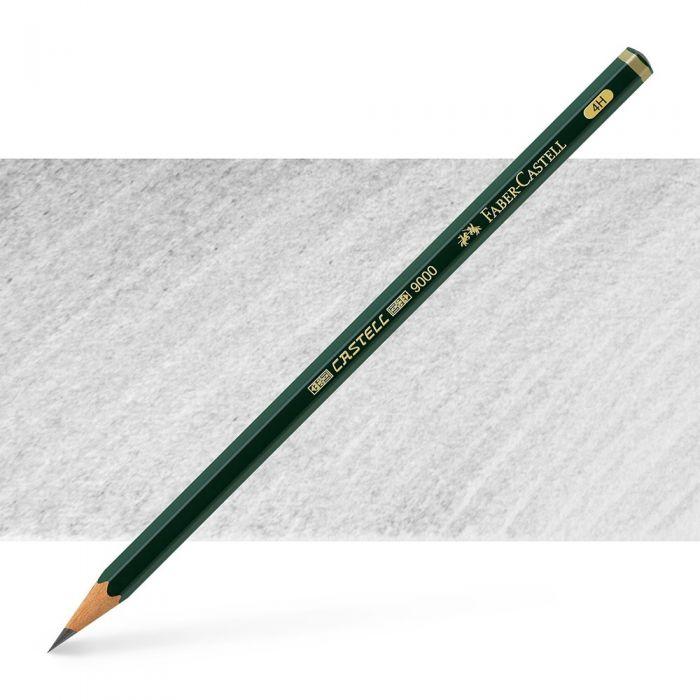 Графитный карандаш Faber Castell series 9000, твердость 4H