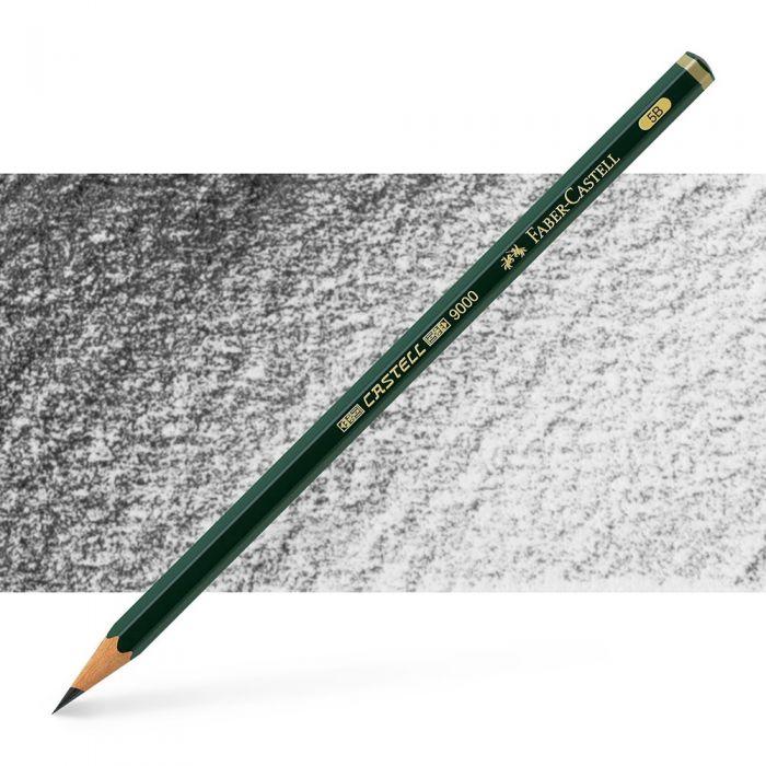Графитный карандаш Faber Castell series 9000, твердость 5B