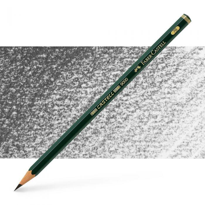 Графитный карандаш Faber Castell series 9000, твердость 7B