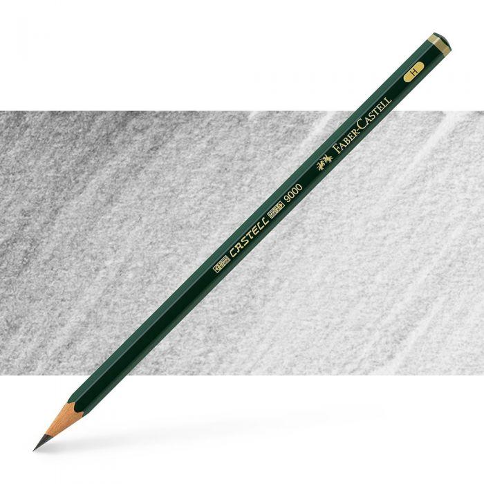 Графитный карандаш Faber Castell series 9000, твердость H