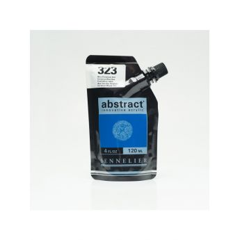 Краска акриловая Abstract Sennelier 120 мл Cerulean Blue Hue 323