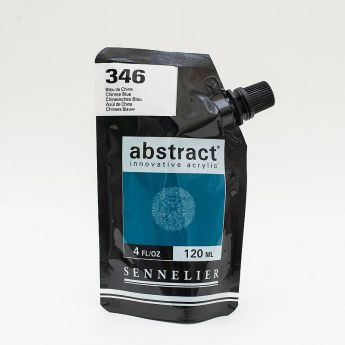 Краска акриловая Abstract Sennelier 120 мл Chinese Blue 346