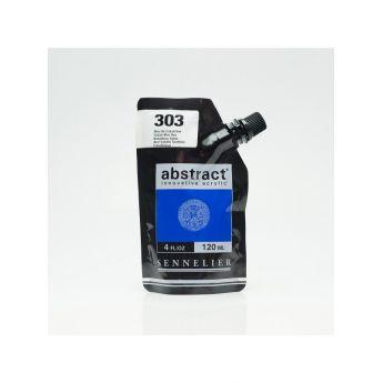 Краска акриловая Abstract Sennelier 120 мл Cobalt Blue Hue 303