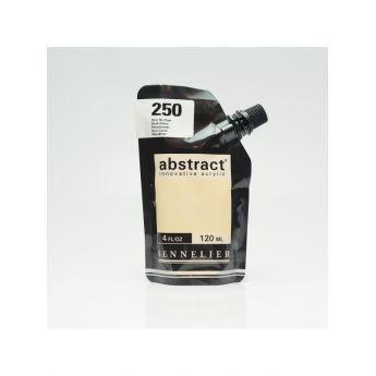 Краска акриловая Abstract Sennelier 120 мл Flesh Ochre 250