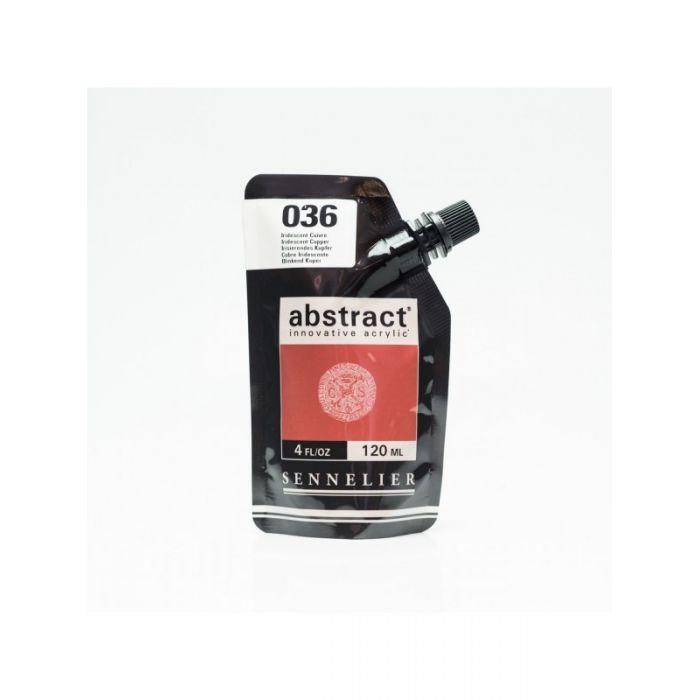 Краска акриловая Abstract Sennelier 120 мл Iridescent Copper 036