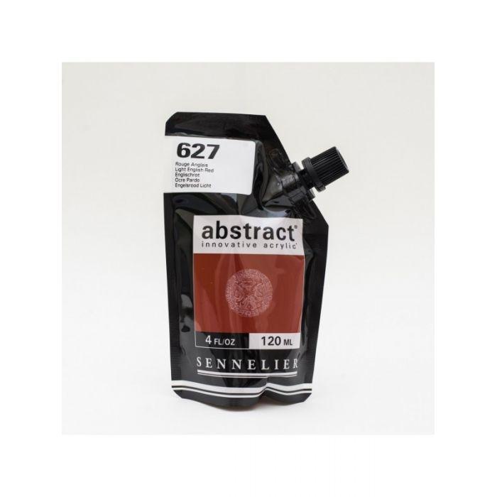 Краска акриловая Abstract Sennelier 120 мл Light English Red 627