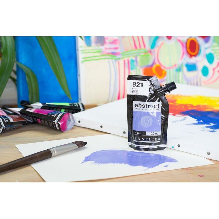 Краска акриловая Abstract Sennelier 120 мл Light Violet 921