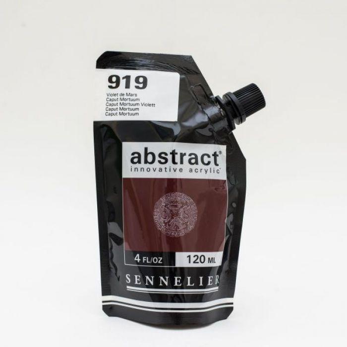 Краска акриловая Abstract Sennelier 120 мл Mars Violet 919
