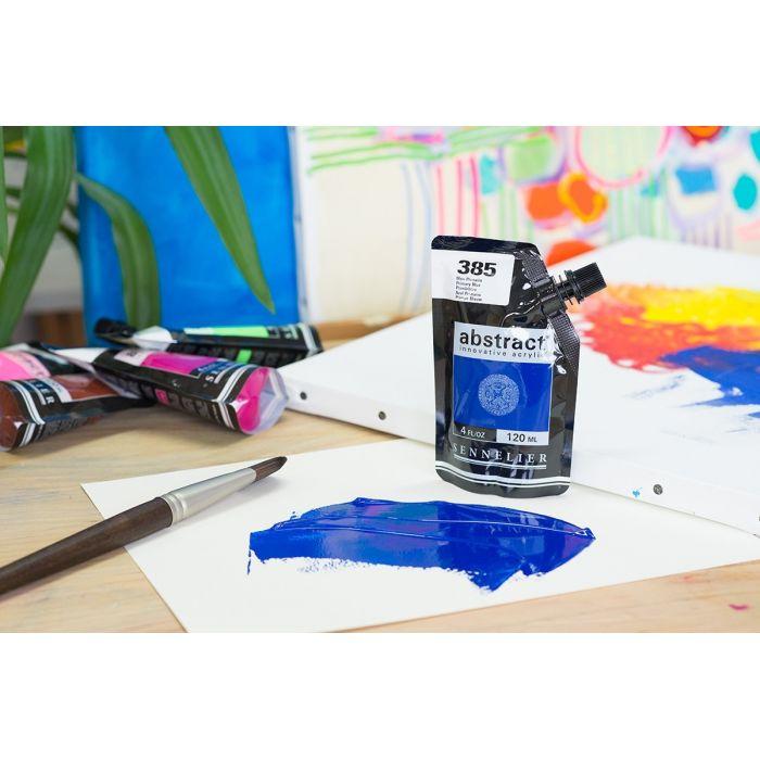 Краска акриловая Abstract Sennelier 120 мл Primary Blue 385
