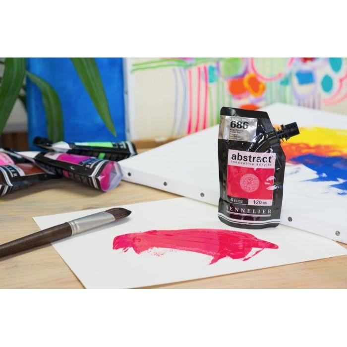 Краска акриловая Abstract Sennelier 120 мл Primary Red 686