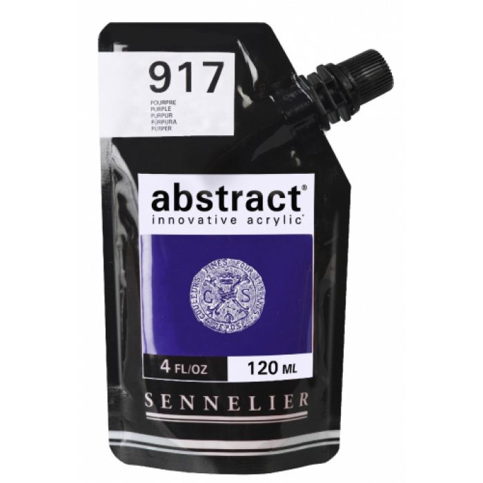 Краска акриловая Abstract Sennelier 120 мл Purple 917