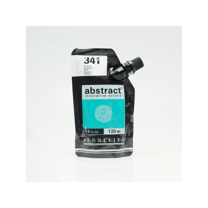 Краска акриловая Abstract Sennelier 120 мл Turquoise 341