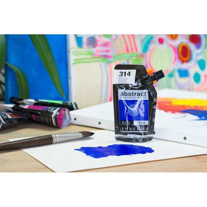 Краска акриловая Abstract Sennelier 120 мл Ultramarine Blue 314
