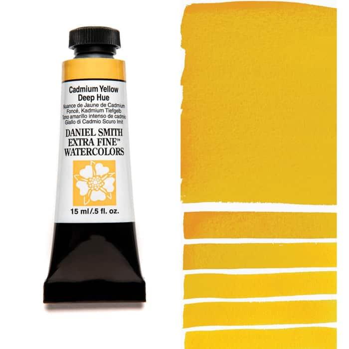 Акварель Daniel Smith - Cadmium Yellow Deep Hue в тубе 5 мл., серия 3-221 - (in 013)