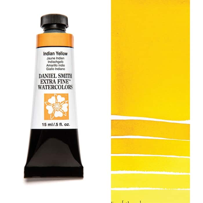 Акварель Daniel Smith - Indian Yellow в тубе 5 мл., серия 3-045 - (in 016)