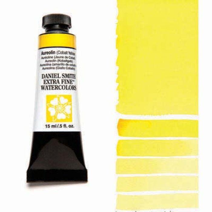Акварель Daniel Smith - Aureolin – Cobalt Yellow в тубе 15 мл., серия 3-006 - (in 010)