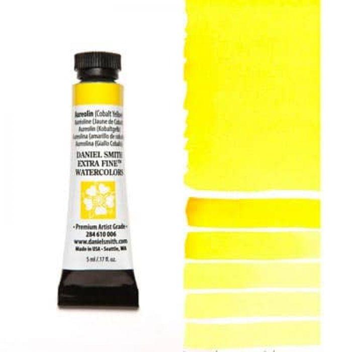 Акварель Daniel Smith - Aureolin – Cobalt Yellow в тубе 5 мл., серия 3-006 - (in 010)