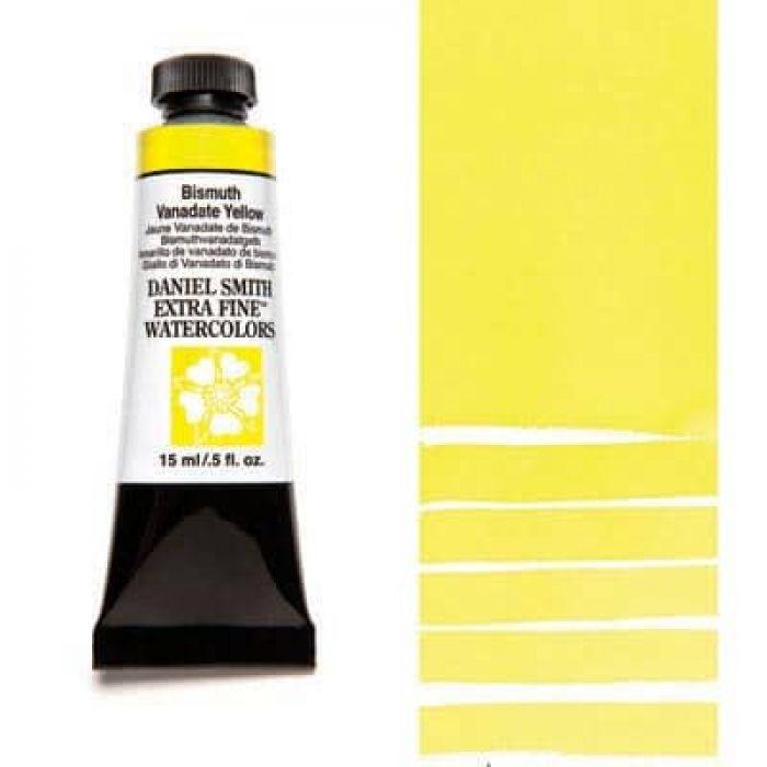Акварель Daniel Smith - Bismuth Vanadate Yellow в тубе 15 мл., серия 2-154 - (in 003)
