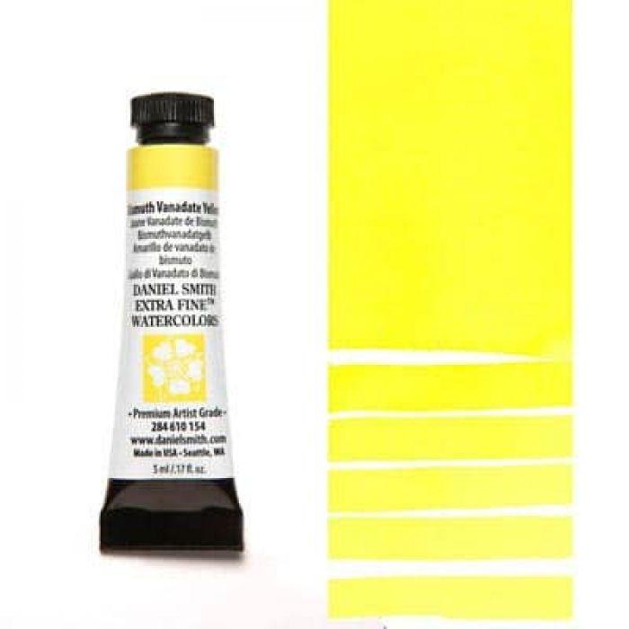 Акварель Daniel Smith - Bismuth Vanadate Yellow в тубе 5 мл., серия 2-154 - (in 003)