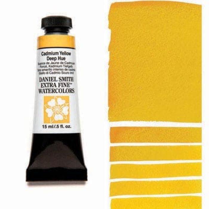 Акварель Daniel Smith - Cadmium Yellow Deep Hue в тубе 15 мл., серия 3-221 - (in 013)
