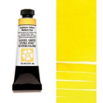 Акварель Daniel Smith - Cadmium Yellow Medium Hue в тубе 15 мл., серия 3-184 - (in 012)