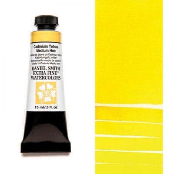 Акварель Daniel Smith - Cadmium Yellow Medium Hue в тубе 15 мл., серия 3-184 - (in 012)
