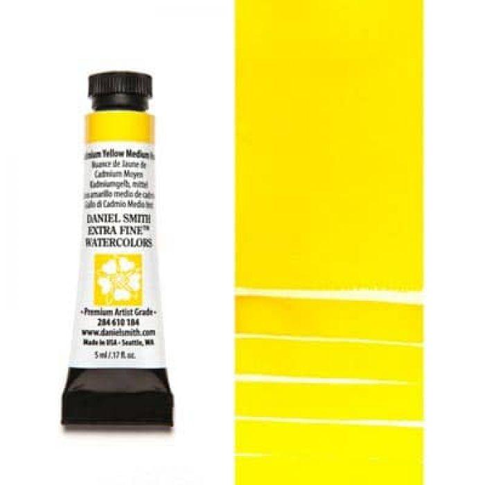 Акварель Daniel Smith - Cadmium Yellow Medium Hue в тубе 5 мл., серия 3-184 - (in 012)