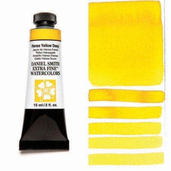 Акварель Daniel Smith - Hansa Yellow Deep в тубе 15 мл., серия 1-040 - (in 007)