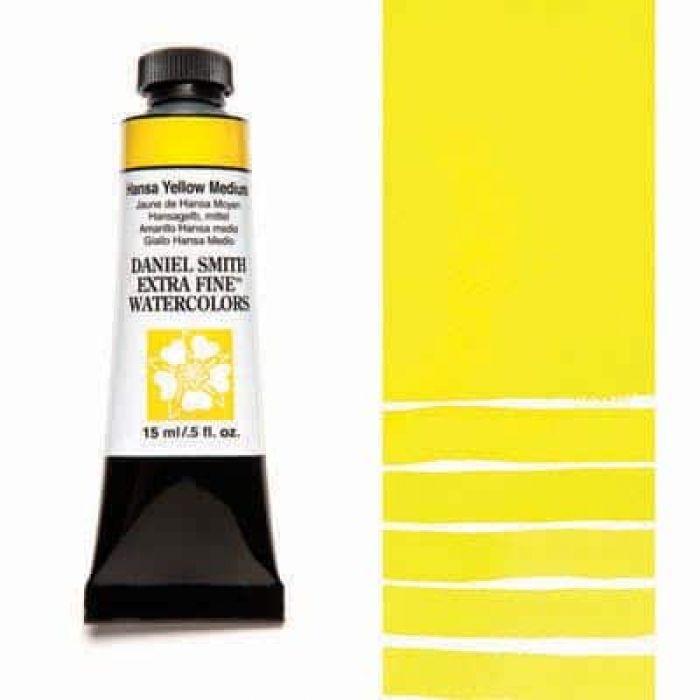Акварель Daniel Smith - Hansa Yellow Medium в тубе 15 мл., серия 2-039 - (in 006)