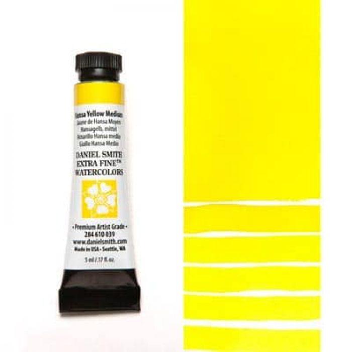 Акварель Daniel Smith - Hansa Yellow Medium в тубе 5 мл., серия 2-039 - (in 006)