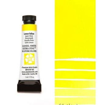 Акварель Daniel Smith - Lemon Yellow в тубе 5 мл., серия 1-165 - (in 004)