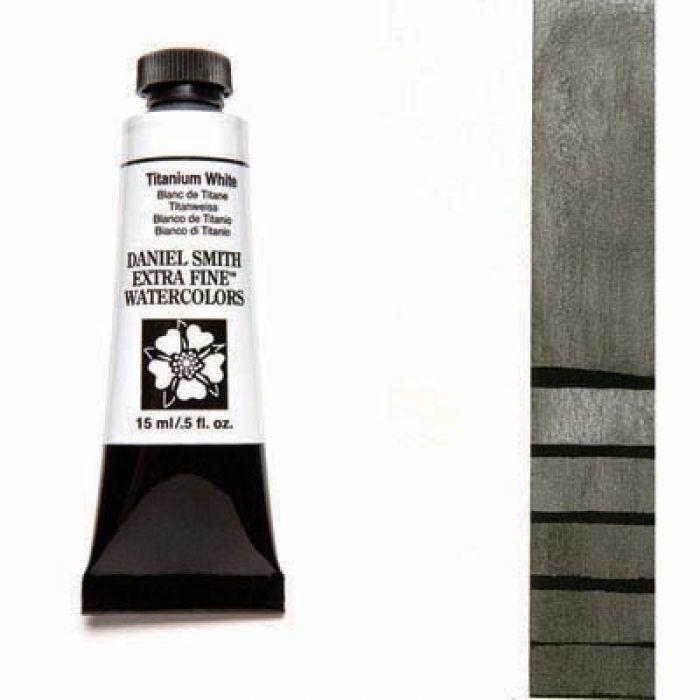 Акварельные краски DANIEL SMITH - Titanium White (Extra Fine) в тубе 15 мл., s 1 - 118