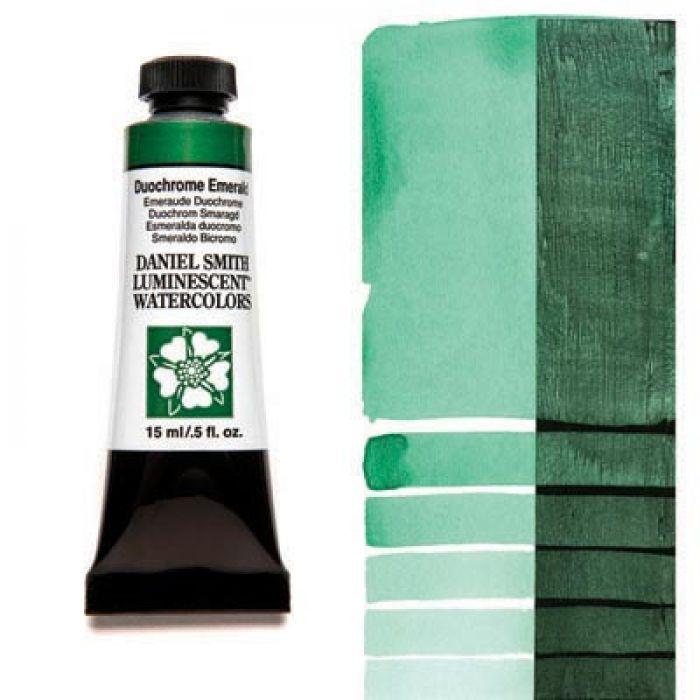 Акварельные краски DANIEL SMITH - Duochrome Emerald (Luminescent) в тубе 15 мл., s 1 - 042