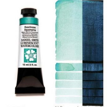 Акварельные краски DANIEL SMITH - Duochrome Aquamarine (Luminescent) в тубе 15 мл., s 1 - 030