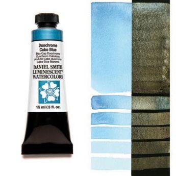 Акварельные краски DANIEL SMITH - Duochrome Cabo Blue (Luminescent) в тубе 15 мл., s 1 - 044