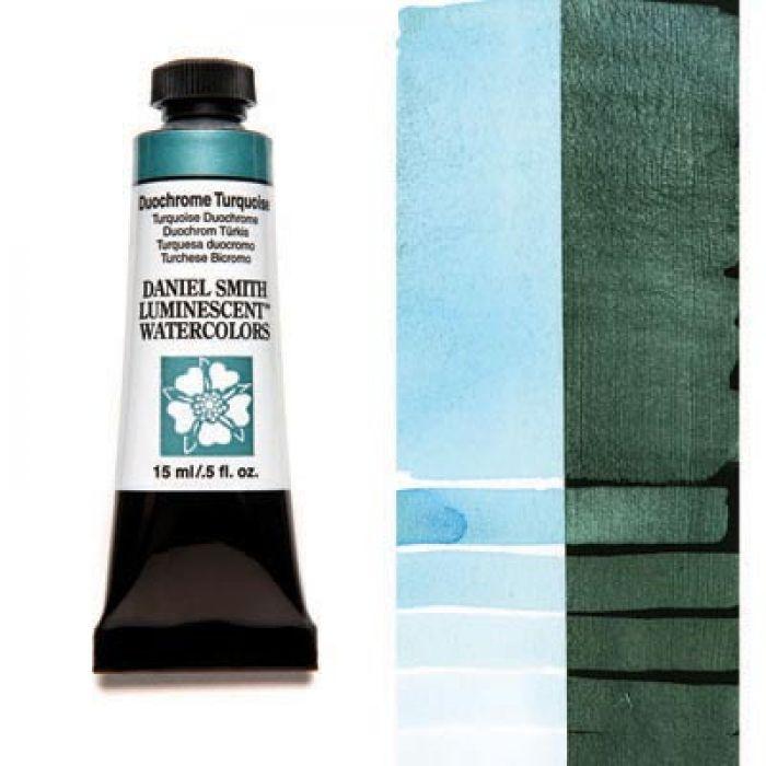 Акварельные краски DANIEL SMITH - Duochrome Turquoise (Luminescent) в тубе 15 мл., s 1 - 043