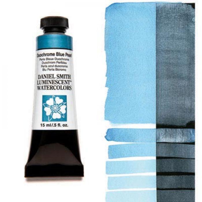 Акварельные краски DANIEL SMITH - Duochrome Blue Pearl (Luminescent) в тубе 15 мл., s 1 - 039