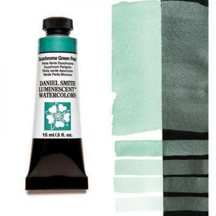 Акварельные краски DANIEL SMITH - Duochrome Green Pearl (Luminescent) в тубе 15 мл., s 1 - 040