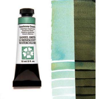 Акварельные краски DANIEL SMITH - Duochrome Oceanic (Luminescent) в тубе 15 мл., s 1 - 029