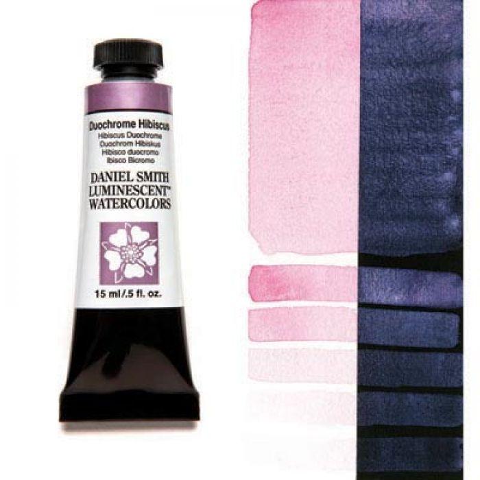 Акварельные краски DANIEL SMITH - Duochrome Hibiscus (Luminescent) в тубе 15 мл., s 1 - 031