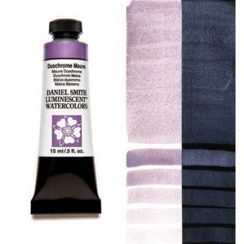Акварельные краски DANIEL SMITH - Duochrome Mauve (Luminescent) в тубе 15 мл., s 1 - 026