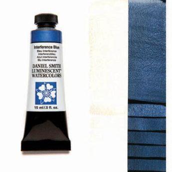 Акварельные краски DANIEL SMITH - Interference Blue (Luminescent) в тубе 15 мл., s 1 - 001