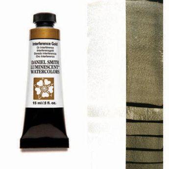 Акварельные краски DANIEL SMITH - Interference Gold (Luminescent) в тубе 15 мл., s 1 - 003