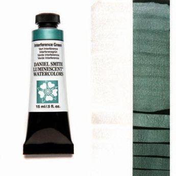 Акварельные краски DANIEL SMITH - Interference Green (Luminescent) в тубе 15 мл., s 1 - 004