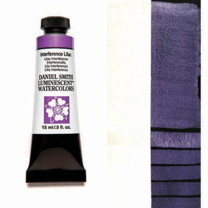 Акварельные краски DANIEL SMITH - Interference Lilac (Luminescent) в тубе 15 мл., s 1 - 005