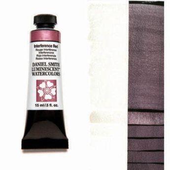 Акварельные краски DANIEL SMITH - Interference Red (Luminescent) в тубе 15 мл., s 1 - 006