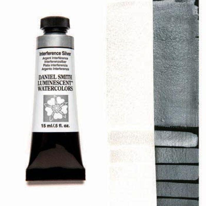 Акварельные краски DANIEL SMITH - Interference Silver (Luminescent) в тубе 15 мл., s 1 - 007